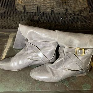 Chloe Distressed Riding boots
